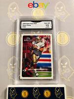 1999 Upper Deck MVP Steve Young #165 - 10 GEM MINT GMA Graded Football Card