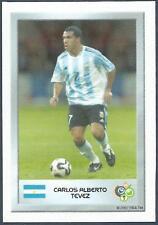 PANINI FIFA WORLD CUP-GERMANY 2006- MINI SERIES- #045-ARGENTINA-CARLOS TEVEZ