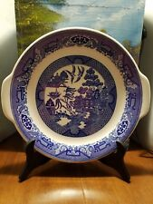 Vintage Blue Willow Cake Plate By Royal China