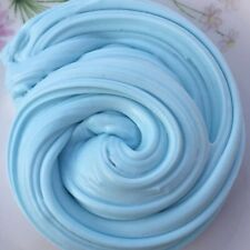 DIY 60ML Fluffy Floam Slime Scented Mud Toys Cotton Mud Release Clay Toy Blue