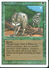 MAGIC THE GATHERING REVISED GREEN RARE TIMBER WOLVES