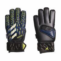 Adidas Fußball Predator Match Fingersave Torwarthandschuhe Kinder schwarz blau