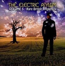 THE ELECTRIC ASYLUM Vol. 5 - V/A Rare Freakrock (New/Sealed) CD Psych Prog Jets