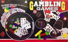 Gambling Plastic Modern Board & Traditional Games