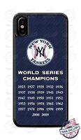 NEW YORK YANKEES BASEBALL WORLD SERIES PHONE CASE COVER FITS iPHONE SAMSUNG etc