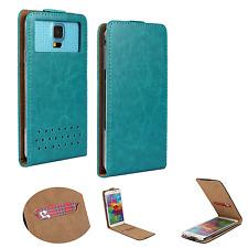 HUAWEI Ideos X3 - Smartphone Hülle Tasche Schutzhülle - Flip XS Türkis
