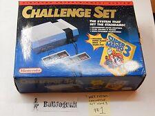 NES Challenge Set System Complete in Box Super Mario Bros 3 Nintendo Console # 1