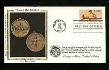 US FDC #1925 Colorano / Miami Florida Elks BPOE 1981 MI Year of the Disabled