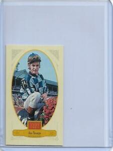 "2012 PANINI GOLDEN AGE RON TURCOTTE BROAD LEAF ""BLUE"" MINI CARD #109 ~ JOCKEY"