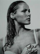 "Ursula Andress  orig. Autogramm "" Bond Girl 007 "" Motiv  Großfoto 20x25"