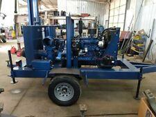 """Refurbished Cdpw Complete 8"""" Dewatering Pump John Deere Diesel under 200 hours"""