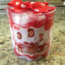 MUD PIE Girls Tutu RED and WHITE Pettiskirt 0-12 months NEW
