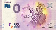 Billets Euro Schein Souvenir Touristique 2019 Habano Puro Cubano