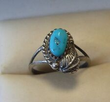 Turquoise Ring Vintage Fine Jewellery (1970s)