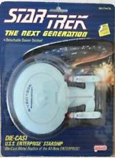 (1988) Galoob Star Trek Uss Enterprise 1701-D Die Cast Ship! Moc!