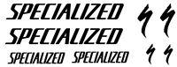 8 pegatinas de vinilo Specialized  para bicicleta,no 284