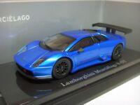 1:64 Kyosho Lamborghini Murcielago Murciélago R-GT 2008-2009 Chrome Blue Dealer