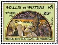 Timbre Religion Paques Wallis et Futuna 258 ** lot 25337