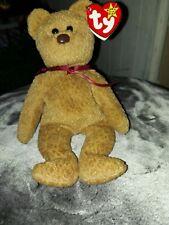 Ty Beanie Baby CURLY Bear RARE MULTIPLE Errors Original Retired 1993/1996 PVC