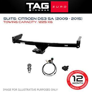 TAG Euro Towbar Fits Citroen DS3 2009 - 2015 Towing Capacity 1225Kg 4x4 Exterior