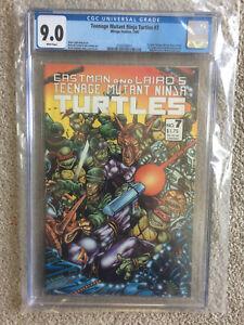 teenage mutant ninja turtle #7 cgc 9.0