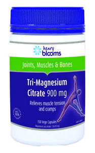 HENRY BLOOMS TRI-MAGNESIUM CITRATE 900MG 150 CAPSULES