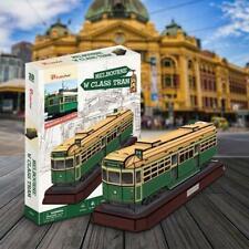 Melbourne W Class Tram 3D Model 73pcs