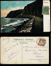 Postal. ANTIGUA POSTAL TENERIFE - NOBREGA´S ENGLISH BAZAR - NUM 42
