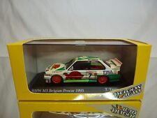 MINICHAMPS 92007 BMW M3 E30 - BELGIAN PROCAR 1993 - TASSIN 1:43 - GOOD IN BOX