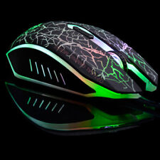 USB 6D Gaming Gamer Optical Mouse Scroll Wheel Mice For Desktop Laptop LX