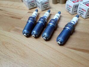 4x Ford Fiesta 1.3i y2001-2010 = BRISK EVO Laser Silver Upgrade Spark Plugs