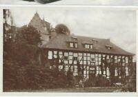 """AK, Adelebsen bei Göttingen, """"Gutshaus"""", Gebäude, Frau, Kind, Hund,"""