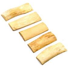 5 PCS Bovine Bone Knife Handle Sword Gun Scale Making Supplies Material