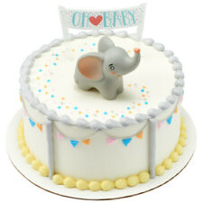 1 Oh Baby Elephant Decoset Gender Reveal Shower Party Cake Topper Decoration