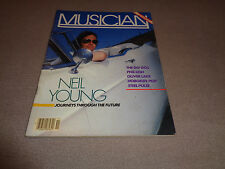 Musician - November 1982 - Neil Young Cover - Phil Lesh - Bruce Springsteen