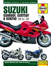 Suzuki GSX600 GSX750 GSX750F 98-02 Haynes Manual 3987