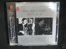 Adolf Busch Plays Bach Vol.2 (II) korea cd new