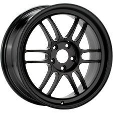 Enkei RPF1 17 x 7 Wheel Lightweight Racing Black 5 x 100 +42 offset