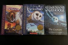 📚 Lot of 3 Guardians of Ga'Hoole books Vol.1-3 - Rescue, Capture, Journey book