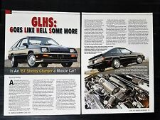 1970 Dodge Challenger RT/SE  4-Page Article - Free Shipping
