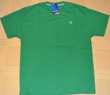 Champion Authentic Green Adult Tee Athletic Apparel Mens  T-Shirt St Patrick Day