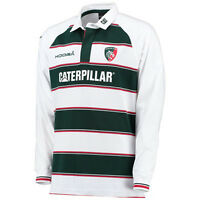Leicester Tigers KooGa Home Classic Long Sleeved Rugby Jersey 2015-16