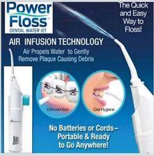 Power Floss Dental Water Jet As Seen on TV Teeth Braces Cleaner  Oral Hygiene UK