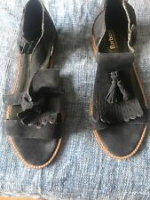 Barbour Navy Sandals Size 5
