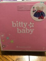 American Girl Bitty Baby Sweet Sprinkles Birthday Outfit NEW IN BOX RETIRED NRFB