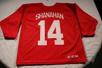 Detroit Red Wings Vintage 90s Brendan Shanahan Practice Jersey CCM L