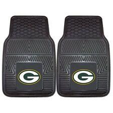 Green Bay Packers Auto Floor Mats 2 Front Rubber Deluxe Heavy Duty