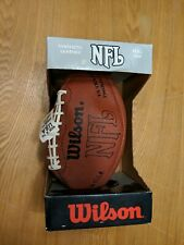 Old New Stock Wilson Nfl Official Size Synthetic Football Ultra Grip F1655 Usa