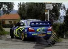 Tommi Makinen Subaru Impreza S9 WRC Tour de Corse Rally 2003 Signed Photograph 1