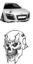 2x Autoaufkleber Car Tuning Skull19 Shocker Tribal 45cm hoch Farbe nach Wunsch